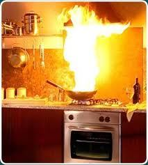 Range Hood Oil Fire